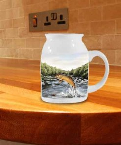 Highland Collection - Milk Jug (Brown Trout) Personalised Gift