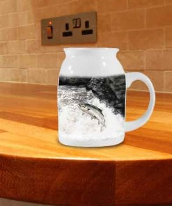 Highland Collection - Milk Jug (Leaping Salmon) Personalised Gift
