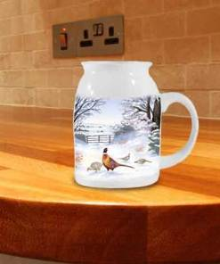 Highland Collection - Milk Jug (Pheasant) Personalised Gift