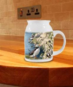 Highland Collection - Milk Jug (Puffin) Personalised Gift