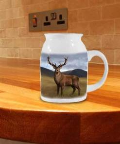 Highland Collection - Milk Jug (Stag) Personalised Gift