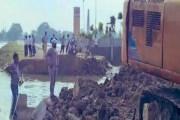 बिहार  - सीएम नीतीश कुमार की टाय-टाय फीस, उद्घाटन से पहले ही बह गई सड़क