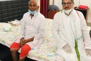 भागलपुर /पूर्व मंत्री श्री रामदेव राय जी से ज़िला अतिथि गृह में मुलाक़ात कर रिसर्च विभाग एवं मैनिफ़ेस्टो कमेटी के चेयरमैन आनन्द माधव ने