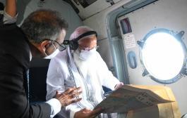 दिल्ली -गुजरात डेस्क /प्रधानमंत्री नरेंद्र मोदी ने चक्रवात टाउते से हुए नुकसान का जायजा लेने के लिए बुधवार को गुजरात और केंद्र शासित क्षेत्र दीव के प्रभावित इलाकों का हवाई सर्वेक्षण किया