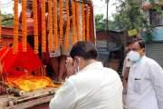 छपरा -पटना /पूर्व मंत्री चंद्रिका राय ने कहा मैं अपने पिता समान बड़े भाई को खो दिया-बिहार के पूर्व मुख्यमंत्री श्री दारोगा प्रसाद राय जी के बड़े पुत्र विधानचंद्र राय जी का AIIMS में निधन