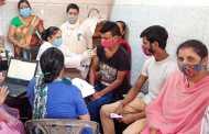 लुधियाना : शेरपुर के अधीन पड़ते रंजीत नगर इलाके में वेक्सिनेशन कैंप का आयोजन किया गया