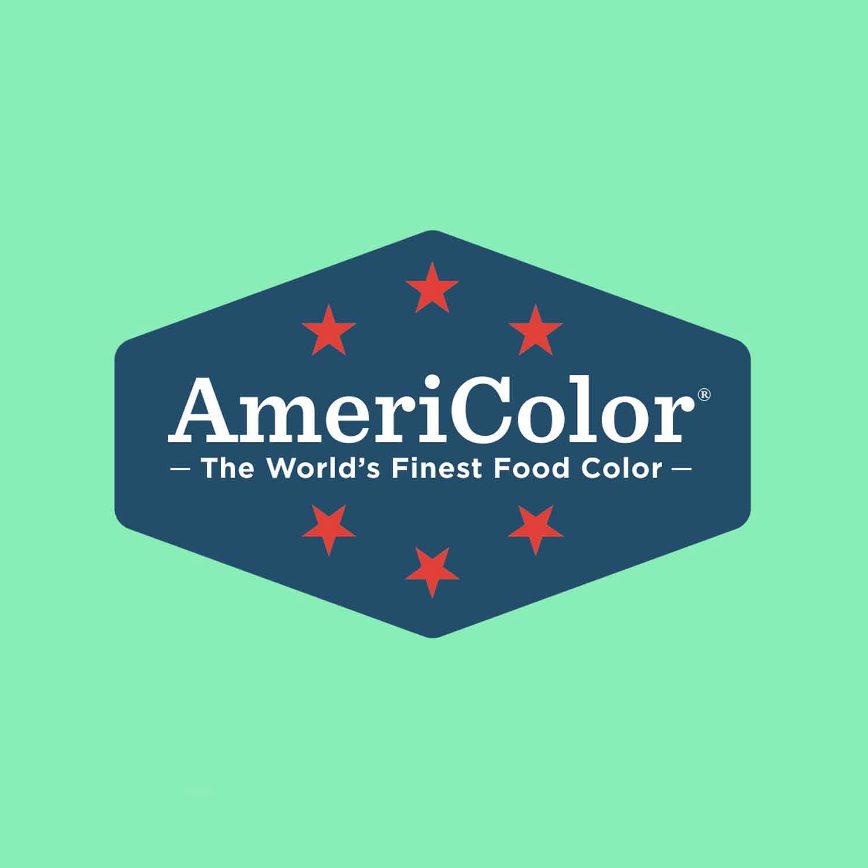 Turquoise AmeriColor Soft Gel Paste Food Color ACR 228