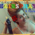 Rusk Hairspray Review