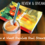 A Better Way to Sip That Smoothie – Eco Heart Straw Review & Giveaway!