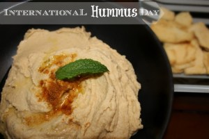 It's International Hummus Day!