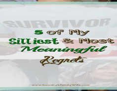 my 5 biggest regrets