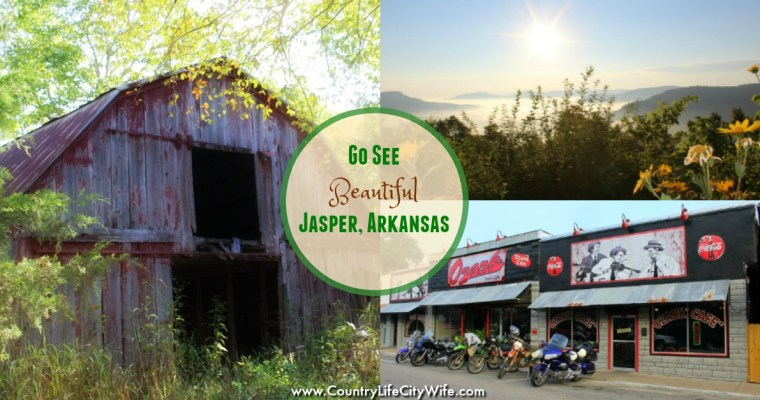 Hanging out in Jasper, Arkansas
