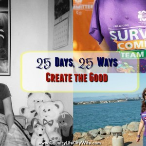 create the good 25 days 25 ways to care