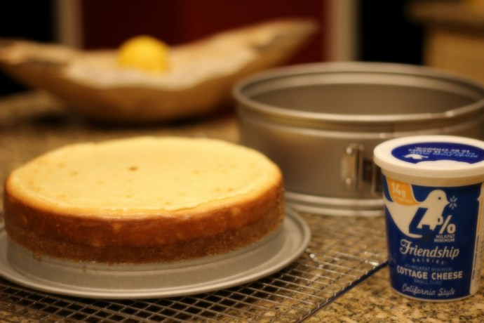cottage cheese cheesecake