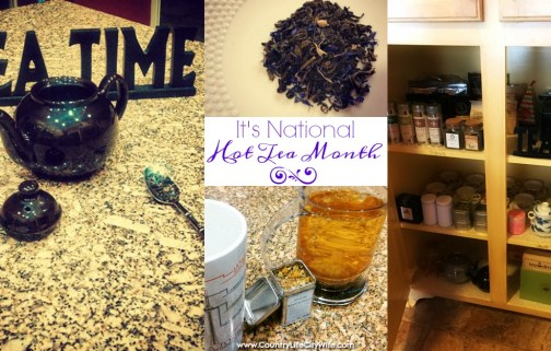 It's National Hot Tea Month – What to Drink!