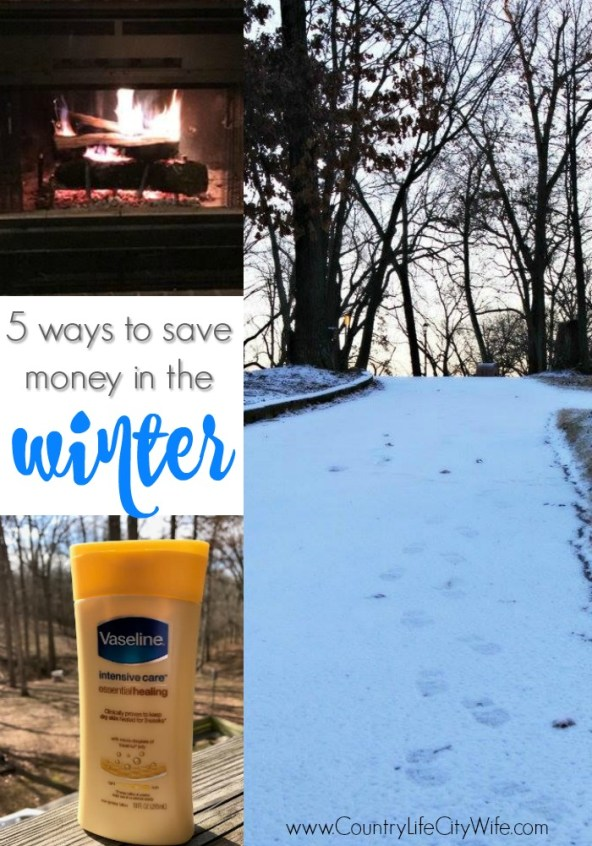 save money in the winter
