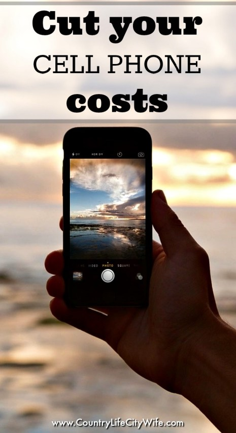 Cut cell phone costs
