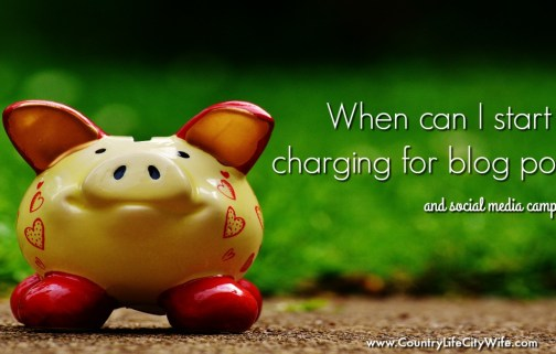 charging for blog posts