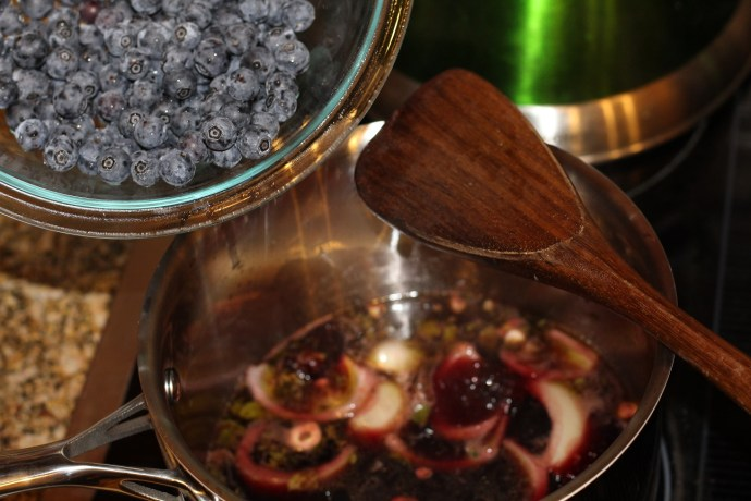Venison Blueberry Sauce Recipe