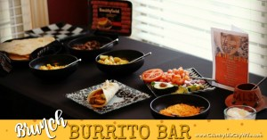 Easy Burrito Brunch Bar – with Homemade Tortillas