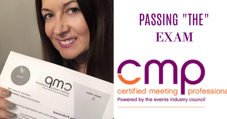 Passing the CMP Exam