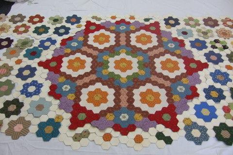 PATCHWORK QUILT PATTERNS HEXAGONS My Quilt Pattern
