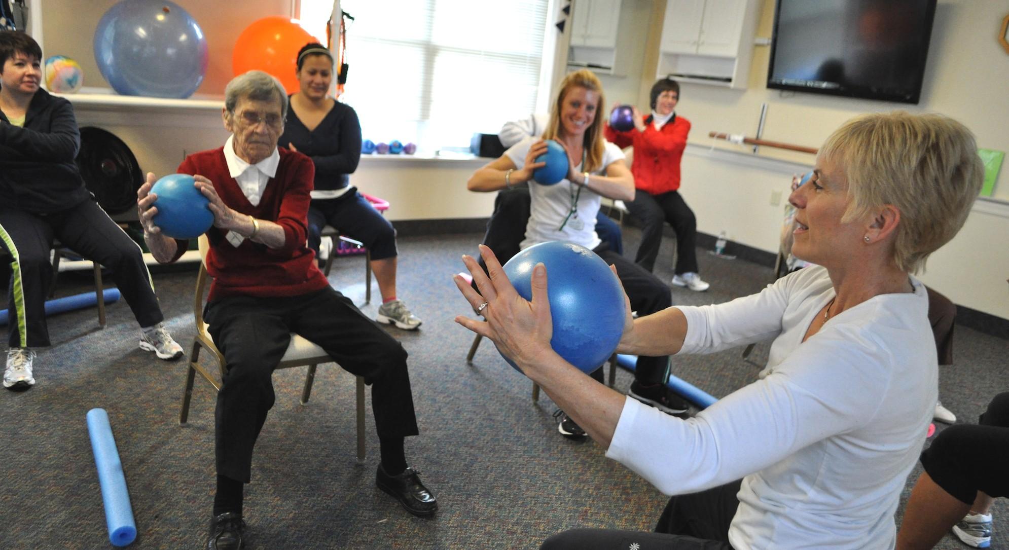 Falls Prevention Programs Make Life Better In Senior
