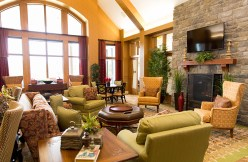 Living Area at Country Meadows of Forks