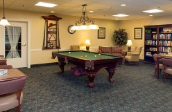 Pool Table at Country Meadows of Hershey