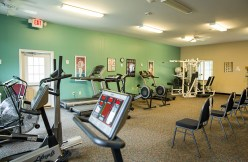 Fitness Room at Country Meadows of York-South