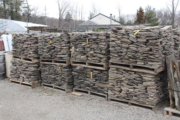 Pallets of Pennsylvania wallstone