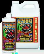 Bottles of Fox Farm Tiger Bloom