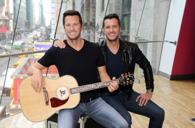 Luke Bryan at Madame Tussauds via Getty Images on Country Music News Blog!