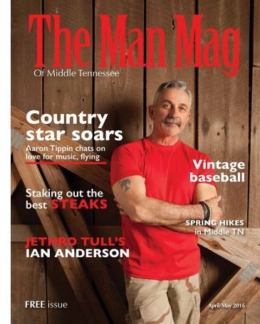 Aaron Tippin - The Man Mag