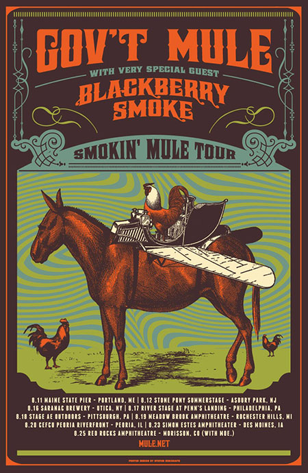 Blackberry Smoke with Gov't Mule on Tour