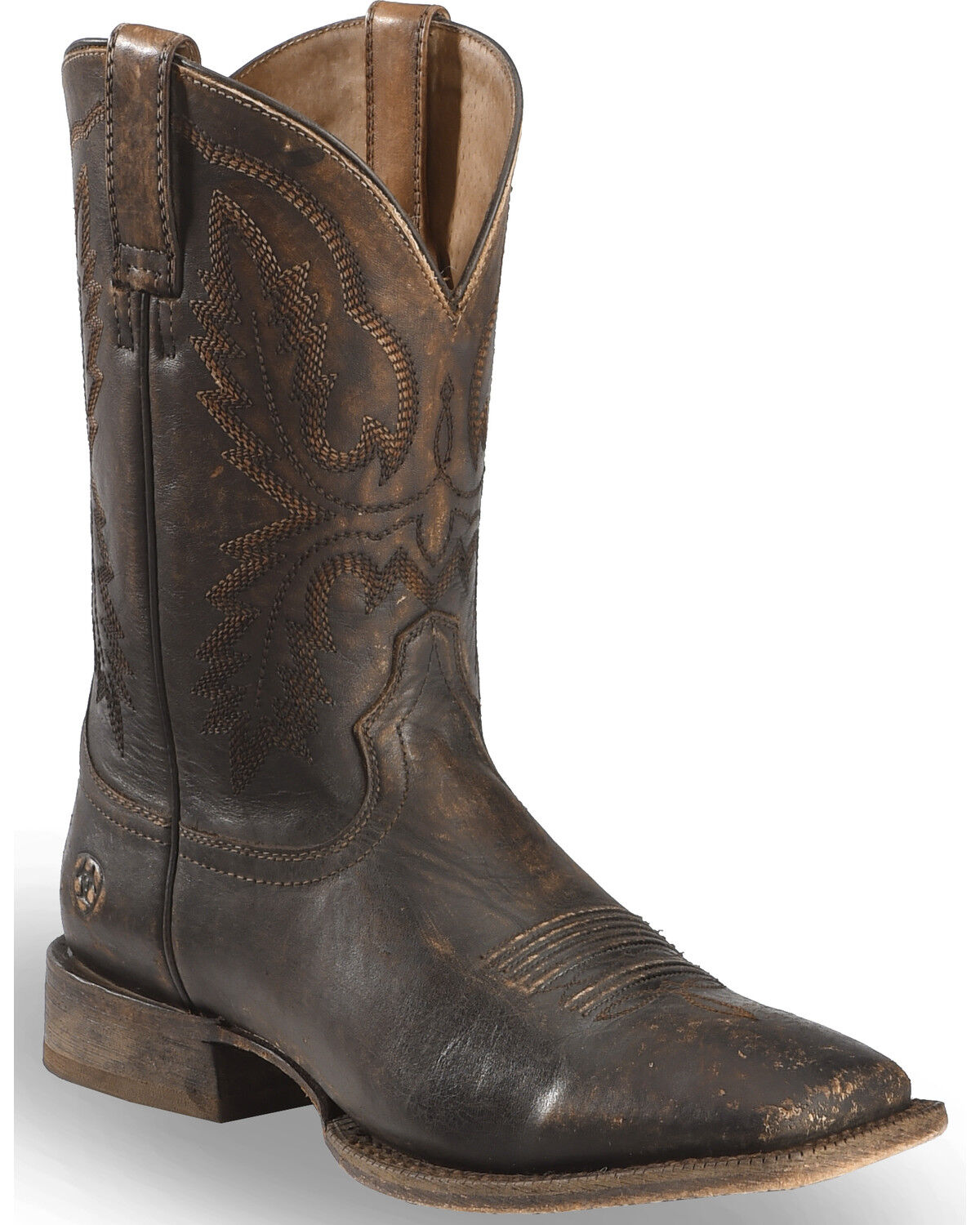 Ariat Mens Distressed Brown Western Cowboy Boots
