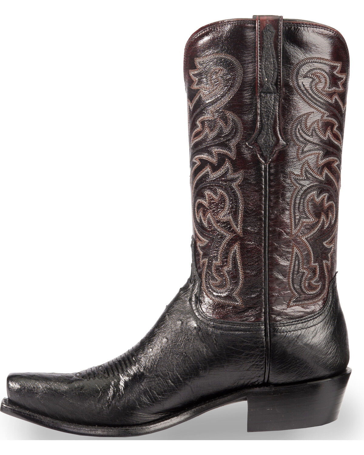 Square Lucchese Sale Mens Black Boots
