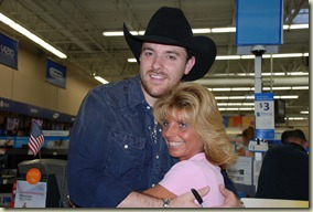 Chris Young Walmart 344
