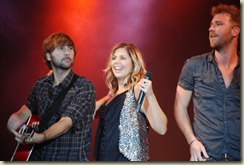Lady Antebellum Friday 106