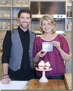 Josh Turner on Martha Stewart's Valentine's Day Show