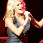 Carrie Underwood helping the children … 36 cents at a time