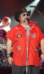 Colt Ford at the Appalachian Fair, with opening act Tyler Farr