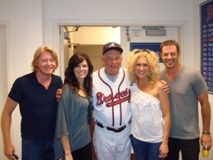 Little Big Town Lights Up Turner Field