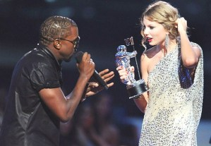 Taylor Swift and Kanye West together again on 2010 MTV Awards stage?