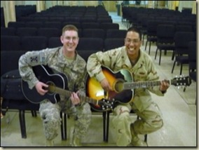 Guitars for troops 1