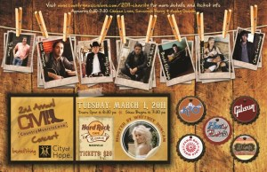 Josh Thompson and Chuck Wicks will take part at 2nd Annual Country Music Is Love benefit concert