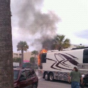 Bus Fire takes Randy Houser's equipment, clothes and personal items