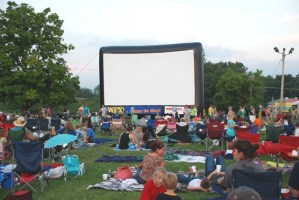 Lakeside Cinema at Winged Deer Park in Johnson City starts June 2, 2011