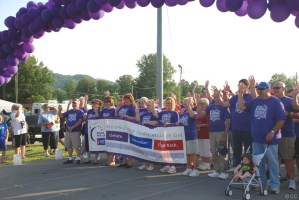 Unicoi County Tennessee 2011 Relay For Life last night, heading to West Virginia this morning