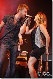 Lady Antebellum Friday 100